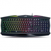Teclado Genius Gamer K220 Scorpion Preto 31310475111