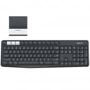 Teclado Sem Fio Logitech K375s Multi Device 920-008167