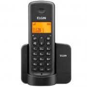 Telefone Sem Fio Elgin Tsf 8002 + 1 Ramal - Dect6.0 Teclado Iluminado, Identifica