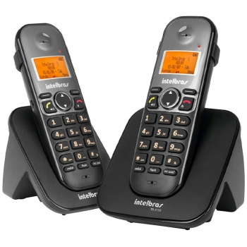 Telefone Sem Fio Intelbras Ts5122 Ident De Chamada + 1 Ramal - 4125122