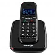 Telefone Sem Fio Intelbras Ts 63v Preto Ident De Chamadas