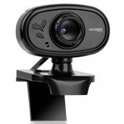 Webcam Argom Cam20 HD 720p 30fps C/ Microfone - ARG-WC-9120BK