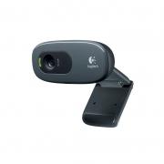 Webcam Logitech C270 Hd 720p Video Chamada Wide Screen Foco Automatico 960-000694