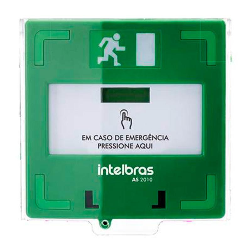 Acionador De Emergência Rearmável As2010 Intelbras - 4675011