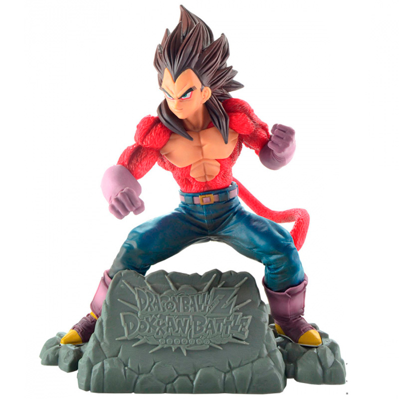 Action Figure Dragon Ball GT - Vegeta Super Sayajin 4 Diorama