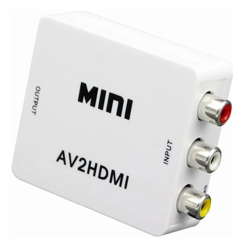 Adaptador Conversor Vga  para AV (Rca) - Vga2Av