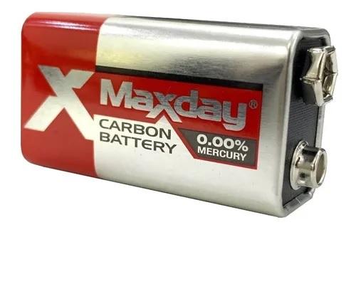 Bateria 9v Maxday Carbon Battery - 2023
