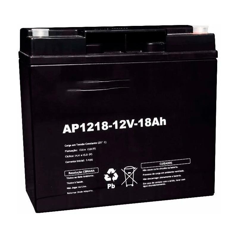 Bateria Para Nobreak 12v 18ah (Vrla Itv12-18ah)