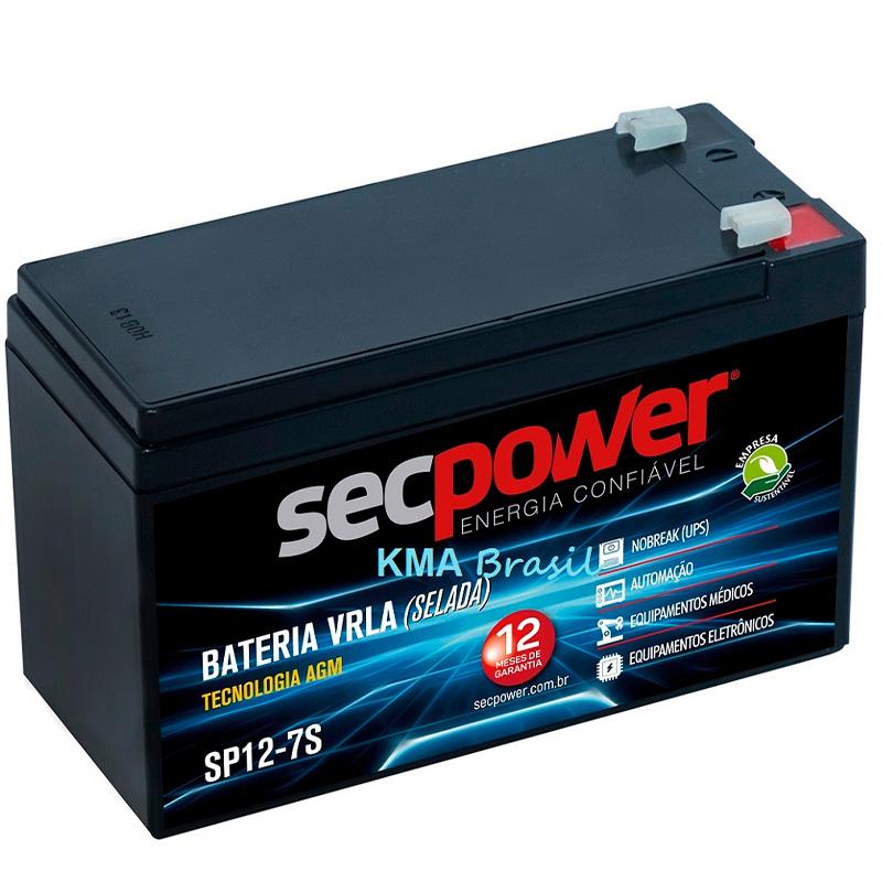 Bateria Para Nobreak Secpower 12v 9ah - 3015