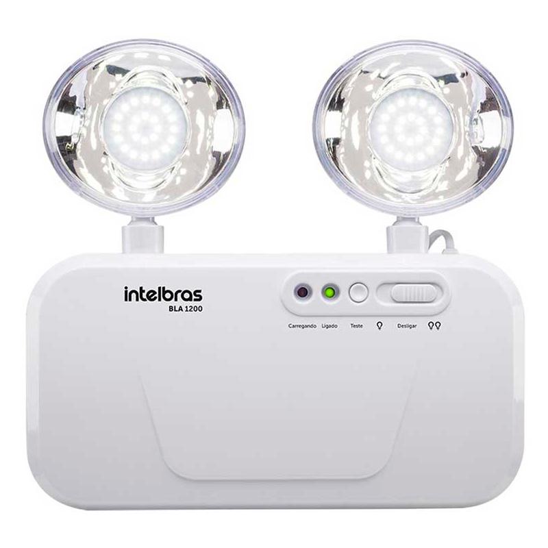 Bloco De Iluminação De Emergência Intelbras Bla 1200 - 4631200