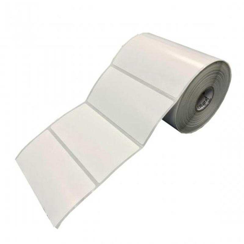 Bobina Impressora Rolo Etiqueta Bopp plástica 10 X 5 Cm / 100 X 50 Mm