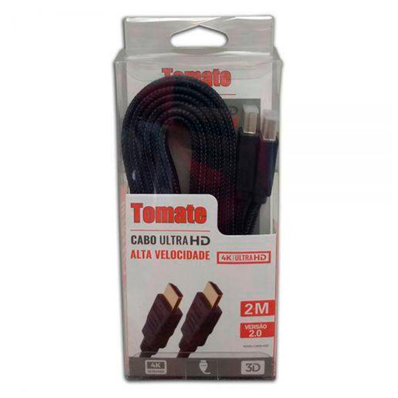 Cabo Hdmi 5mt Tomate 4k Ultra 3d Full Hd Mhd-4005