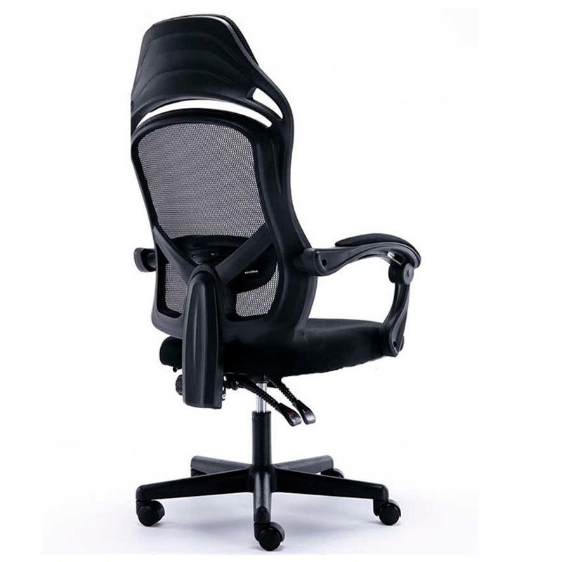 Cadeira Escritório Giratoria com Encosto Reclinável Qikang-011 Preta