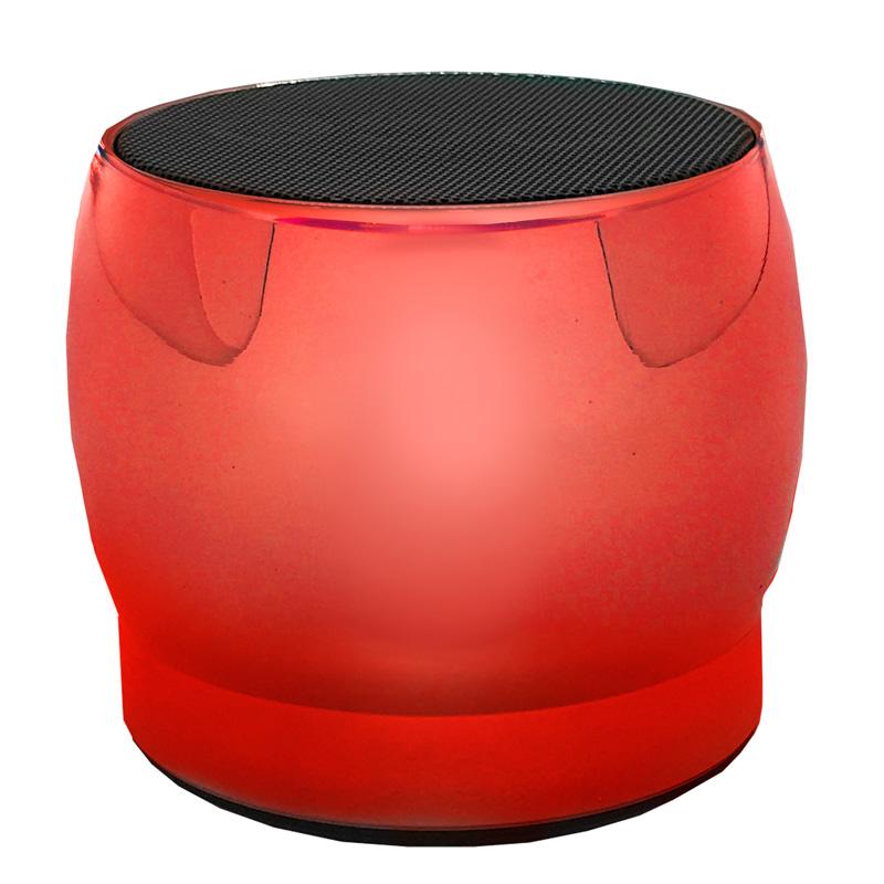 Caixa de Som Bluetooth Ebai Fzf-19yx6 Vermelha