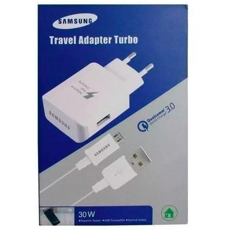 Carregador Usb Tomada Super Rapido Samsung Travel Adapter Turbo 30w