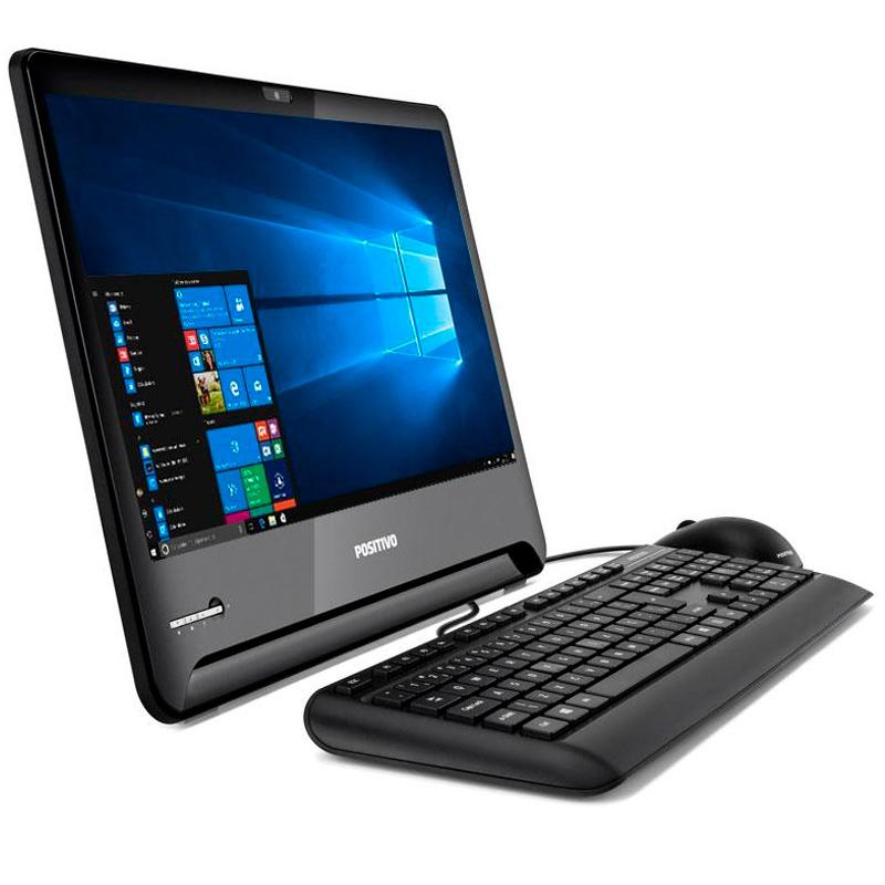 Computador All In One Positivo Master A2100 Core I3-7100u 4gb 500gb Pn 1701293