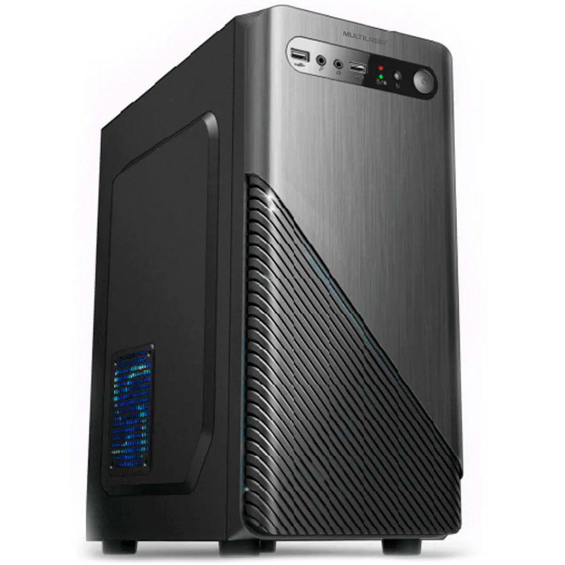 Computador Desktop True Data Intel Celeron 2.41ghz 4gb Ssd 120gb Win10 Trial