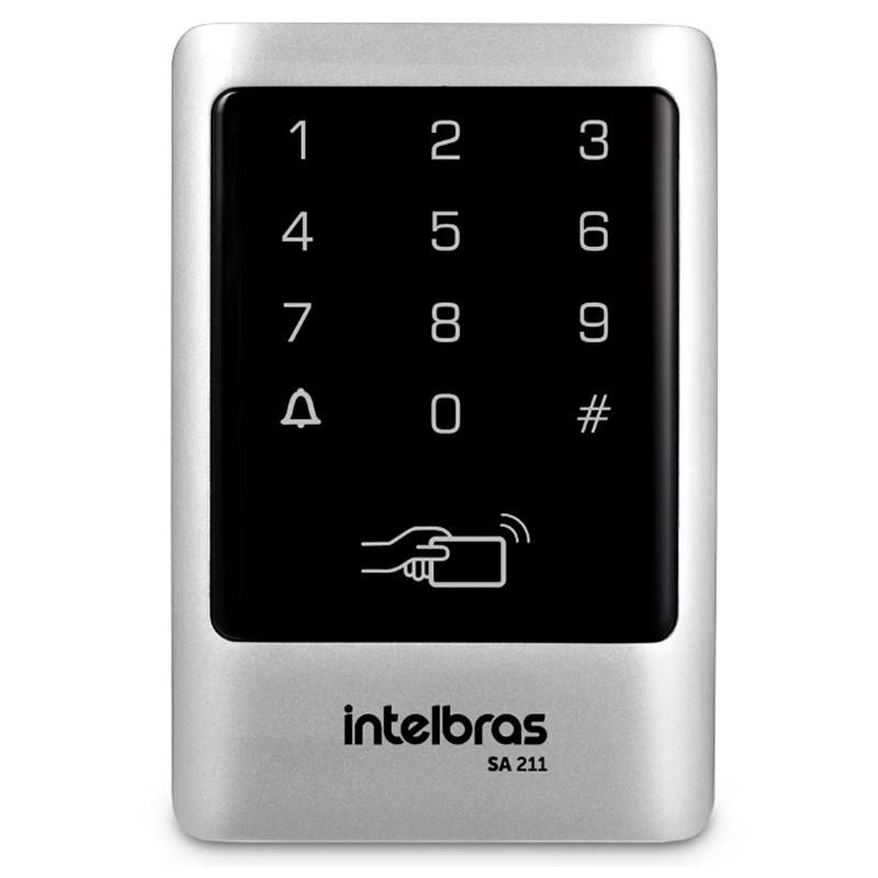 Controlador de acesso por aproximação ou senha Sa 211 Intelbras - 4682039