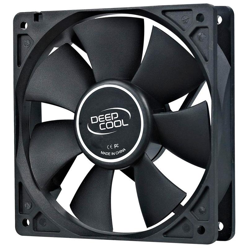 Cooler Fan para Gabinete Deepcool Xfan 80 80x80x25mm Black