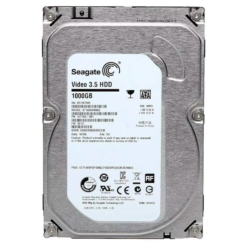Disco Rigido Interno Seagate HD 1TB - ST1000VM002