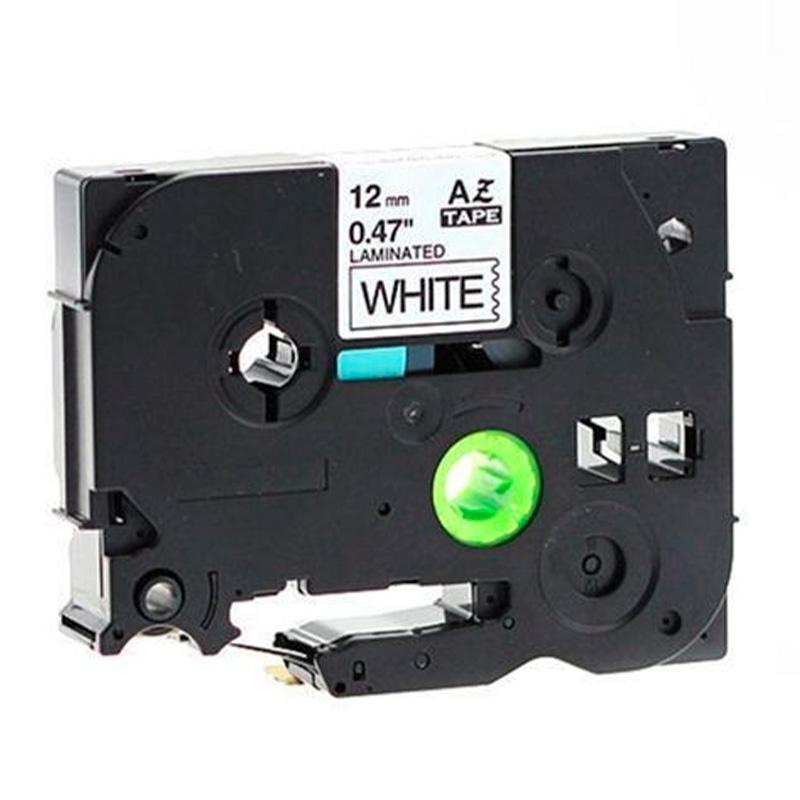 Fita Para Etiquetadora Brother Labelpros Aze23 Tae231 12mm Branca - Tz231 Compativel