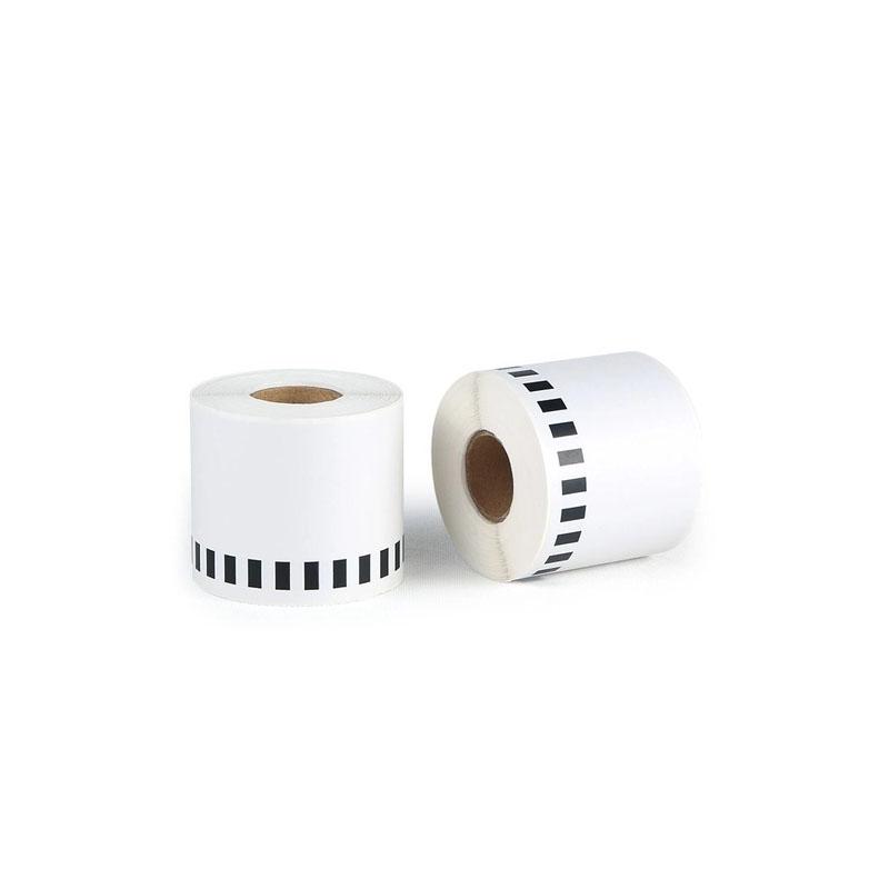 Fita Para Impressora de Etiquetas (Etiquetadora) Térmica Brother DK-2205 DK2205 DK 2205- Rolo Com 62mm X 30 M