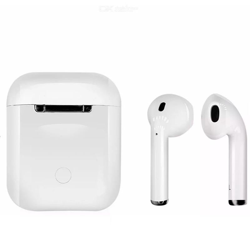 Fone De Ouvido Bluetooth Tipo Iphone I12 Branco