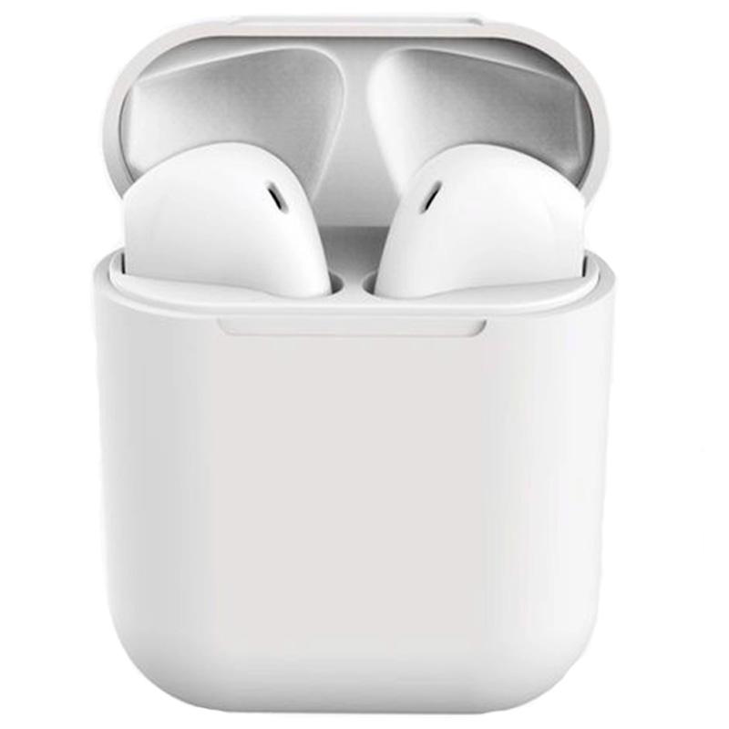 Fone De Ouvido Bluetooth Tipo Iphone I17 Macaron Branco