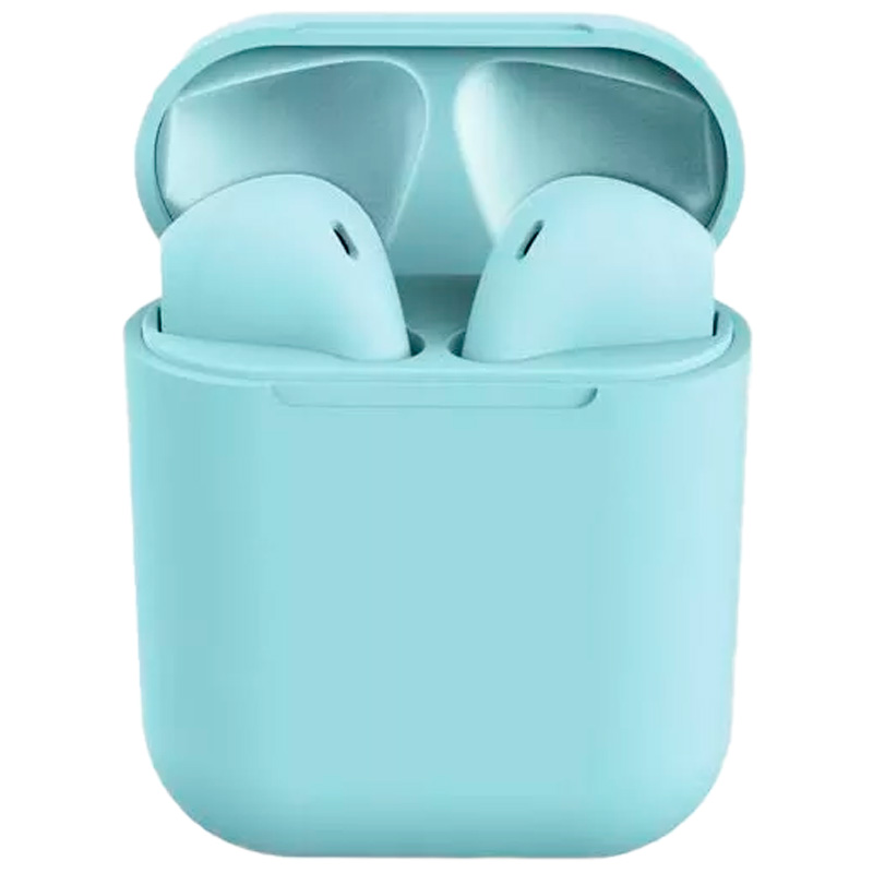 Fone De Ouvido Bluetooth Tipo Iphone Inpods 12 Macaron Azul