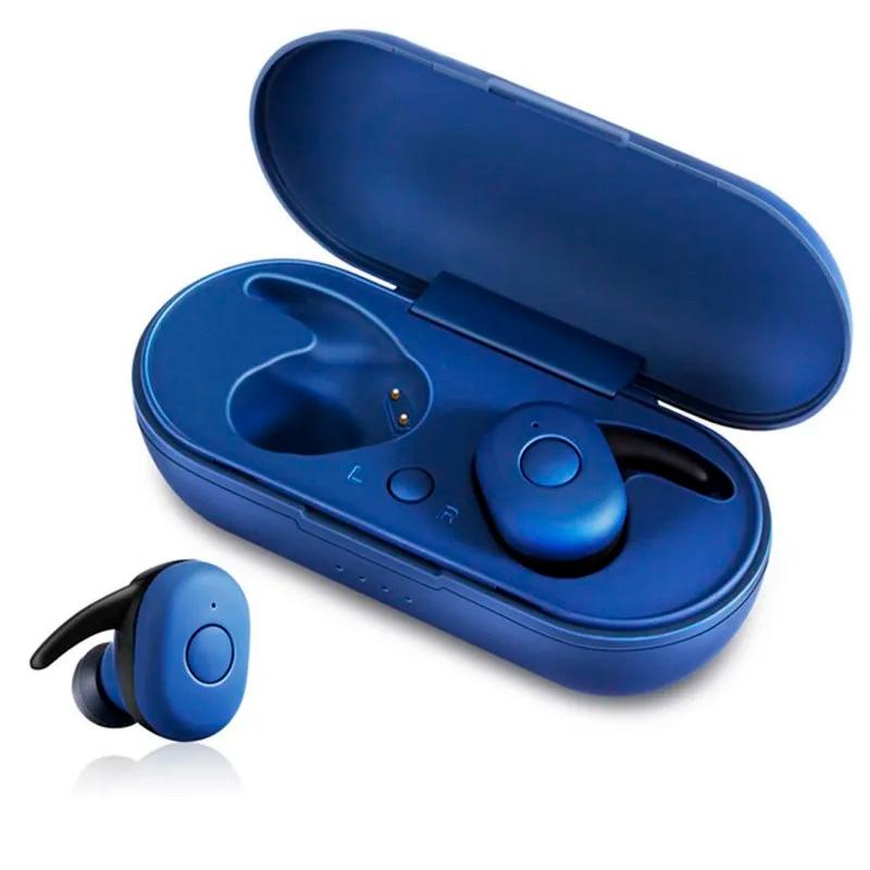 Fone de Ouvido Headphone Bluetooth Tws Dt1 Azul