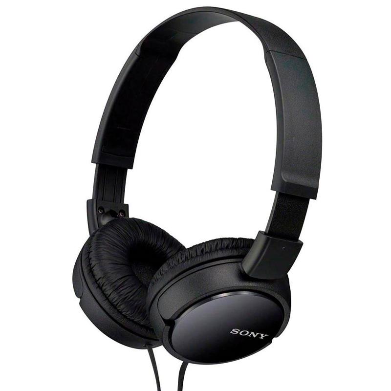 Fone de Ouvido Headphone Sony P2 Preto - MDR-ZX110