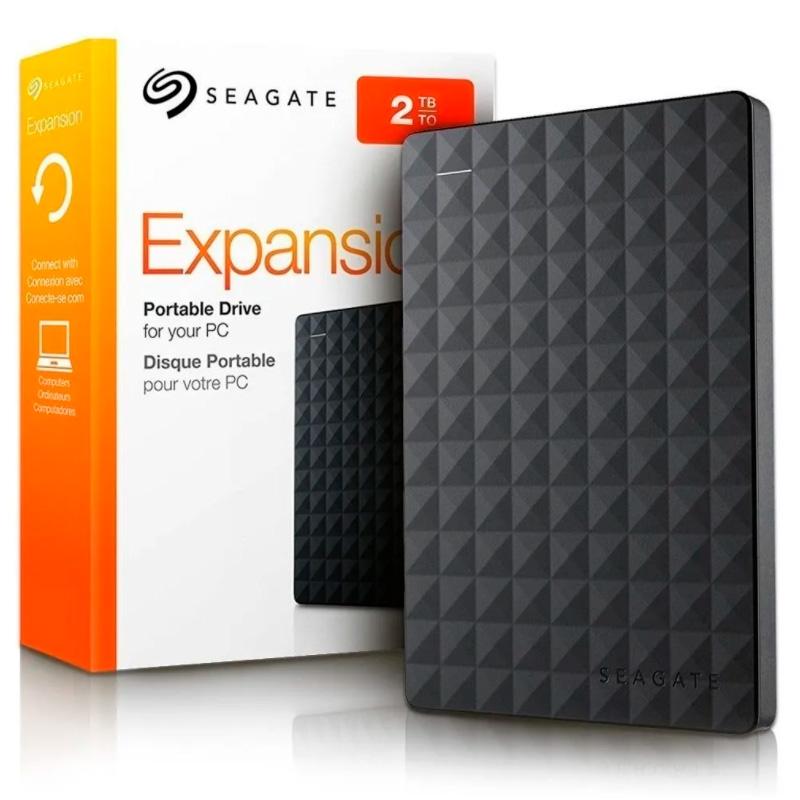 Hd Externo 2.5 Pols 2tb Seagate Expansion Usb 3.0 Preto - Stea2000400