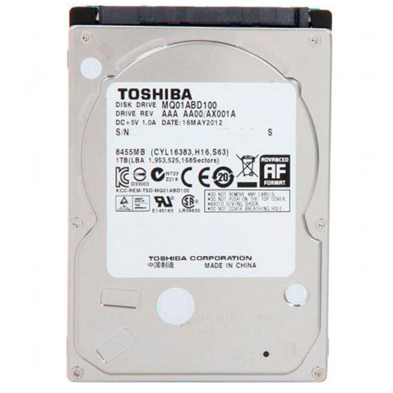Hd Para Notebook 1tb Sata Toshiba Mq01abd100