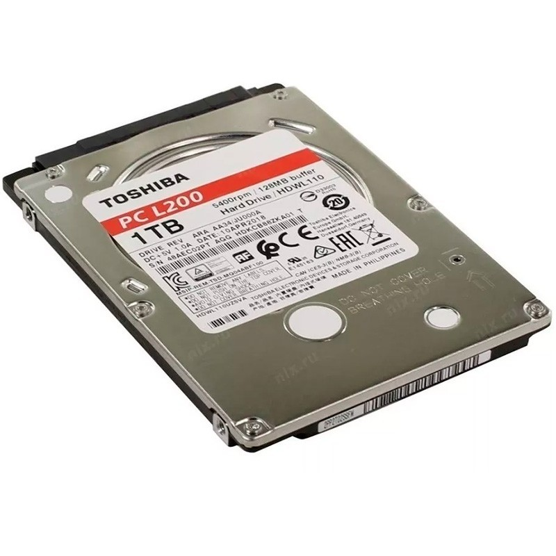 Hd Para Notebook 1tb Sata Toshiba Pc L200 Hdkcb88