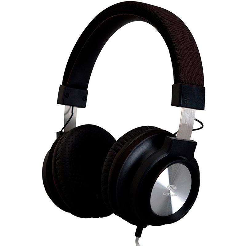 Headset C3tech Preto Ph-300bk