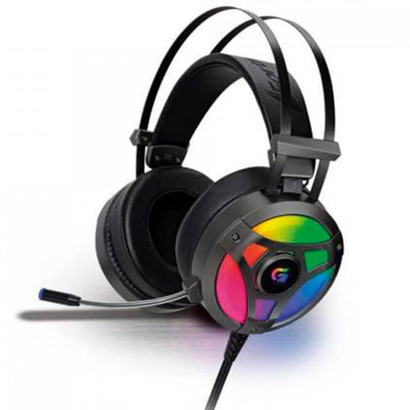 Headset Gamer Fortrek RGB G Pro H1+ 7.1 Cinza - 65905