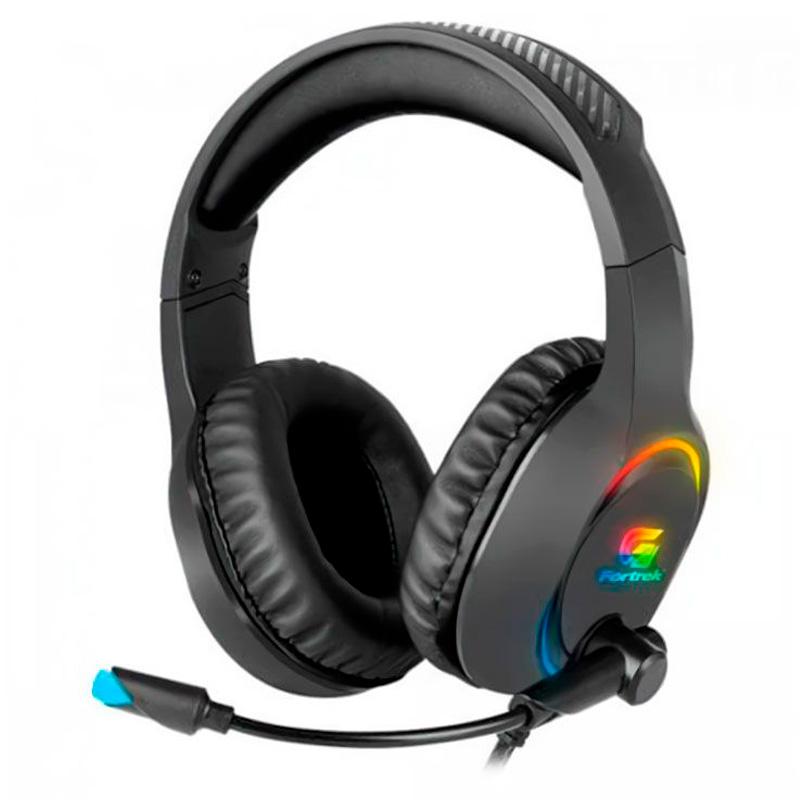 Headset Gamer Fortrek RGB Holt Preto - 70552