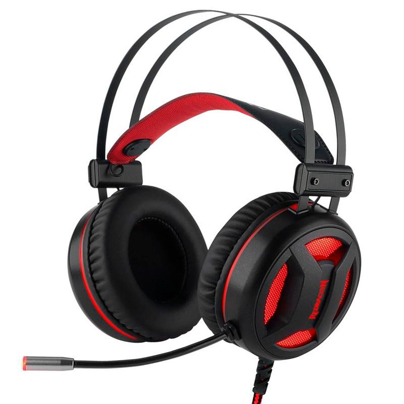Headset Gamer Redragon Minos 7.1 USB Preto - H210