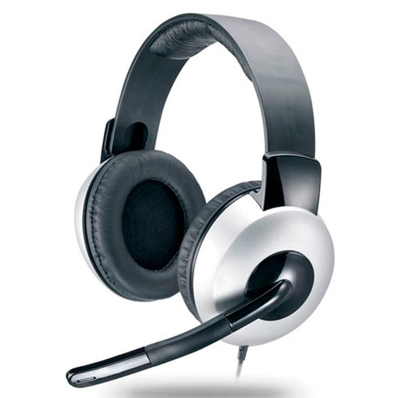 Headset Genius Hs-05a Ergonomico Prata 31710011100