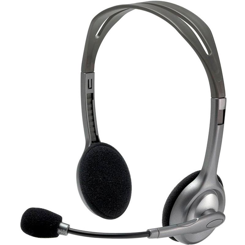 Headset Logitech Stereo P2 H110 981-000305