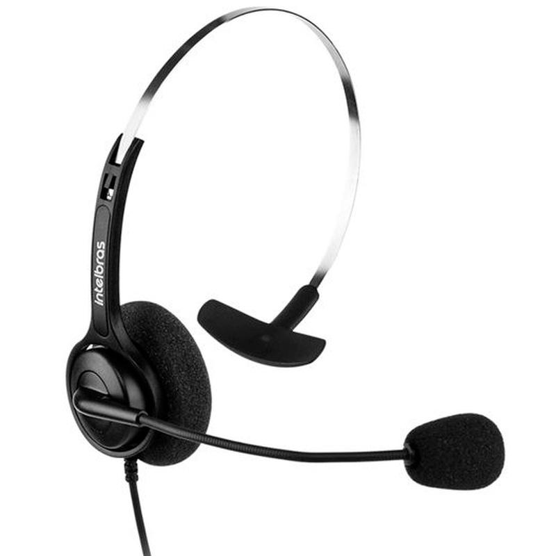 Headset P/Telefone De Call Center Intelbras Rj9 Chs 40 - 4010040