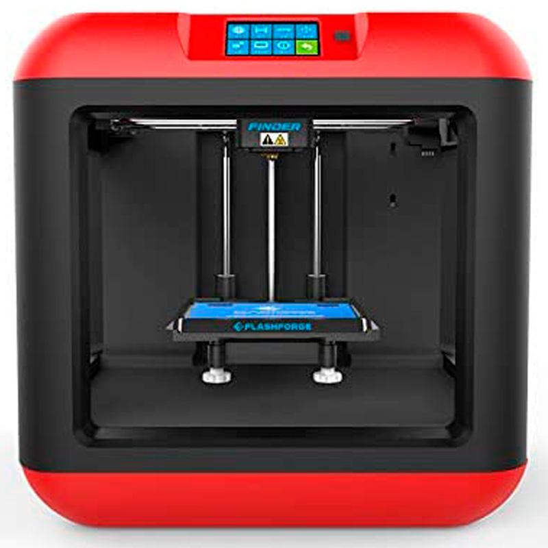Impressora 3D Flashforge Finder Extrusora Wifi Nivelamento Auxiliado 140x140x140mm - 28868