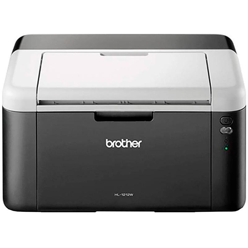 Impressora Laser Brother Hl-1212w - Impressora A Laser Monocromática Wireless 21ppm - Toner Tn1060