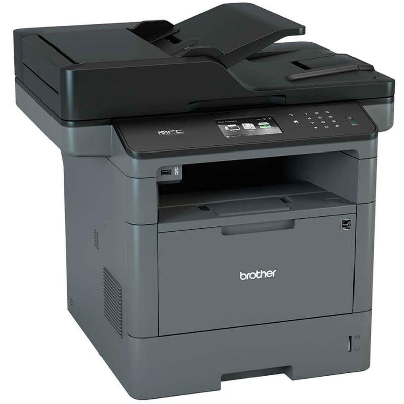 Impressora Multifuncional Laser Brother 5902 Rede Wi-fi 40ppm - MFC-L5902DW