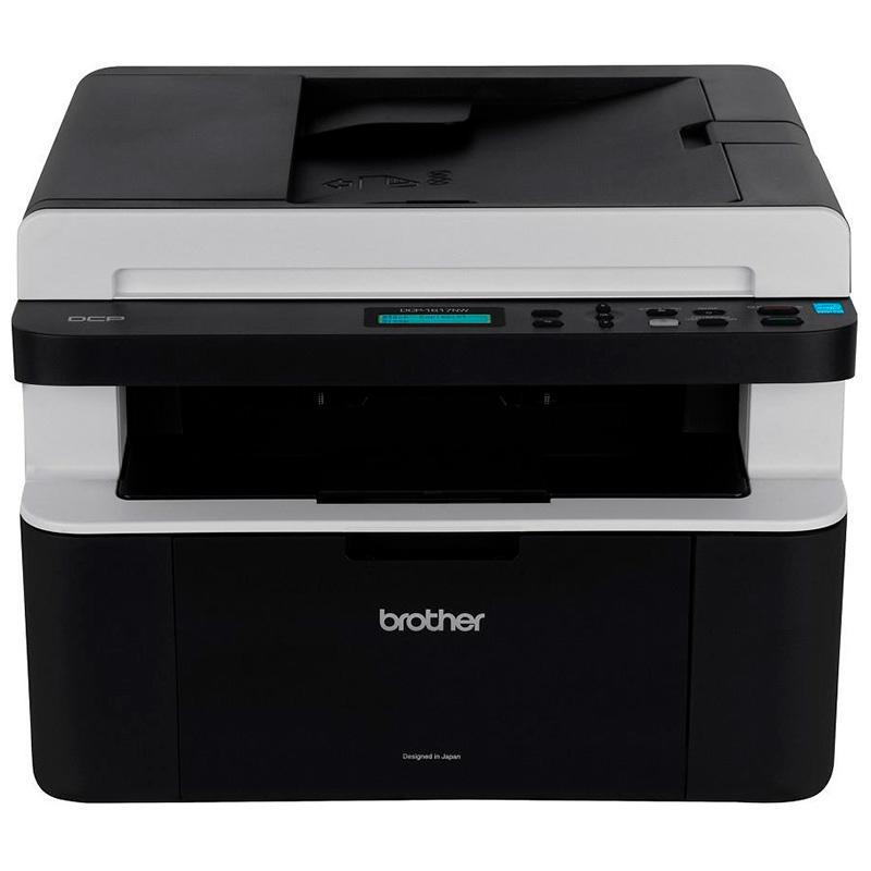 Impressora Multifuncional Laser Brother Dcp-1617nw 20ppm Toner Tn1060