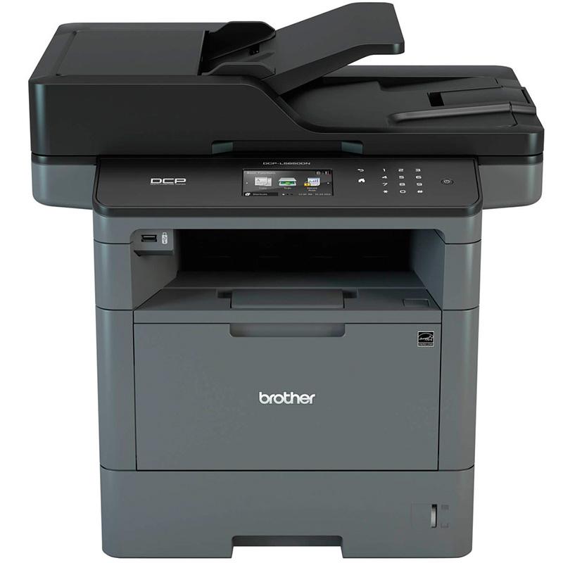 Impressora Multifuncional Laser Brother Dcp-L5652dn - Duplex Rede-42ppm Toner Tn3472