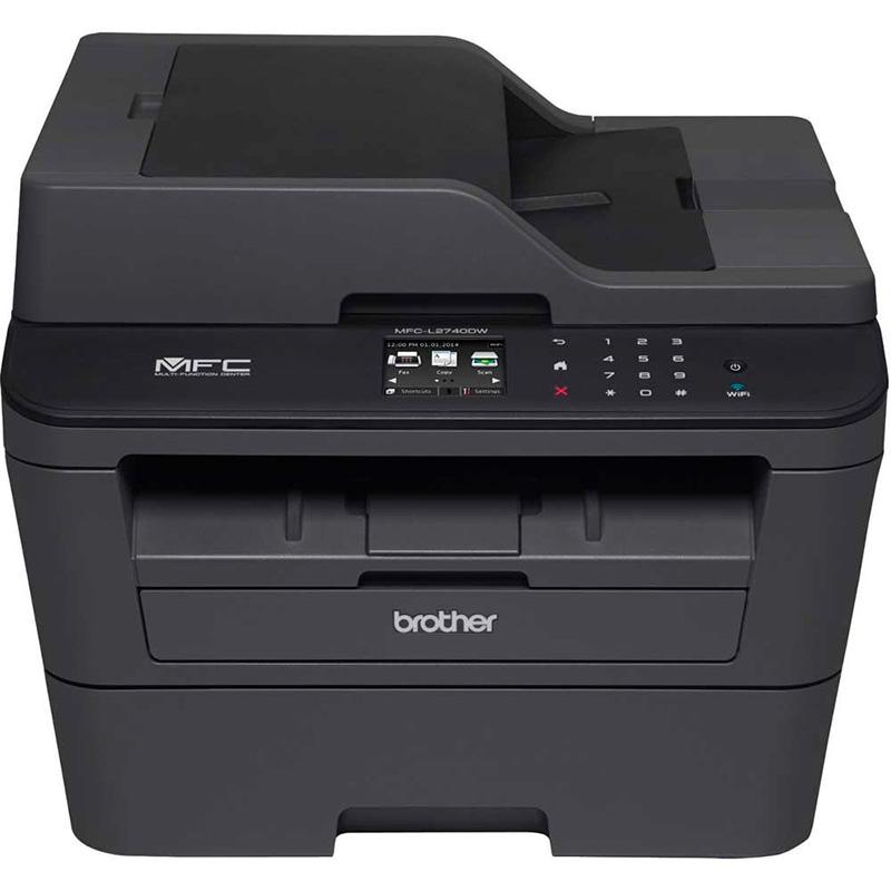 Impressora Multifuncional Laser Brother Mfc-L2740dw Duplex Rede Wi Fi 32ppm Toner Tn2370