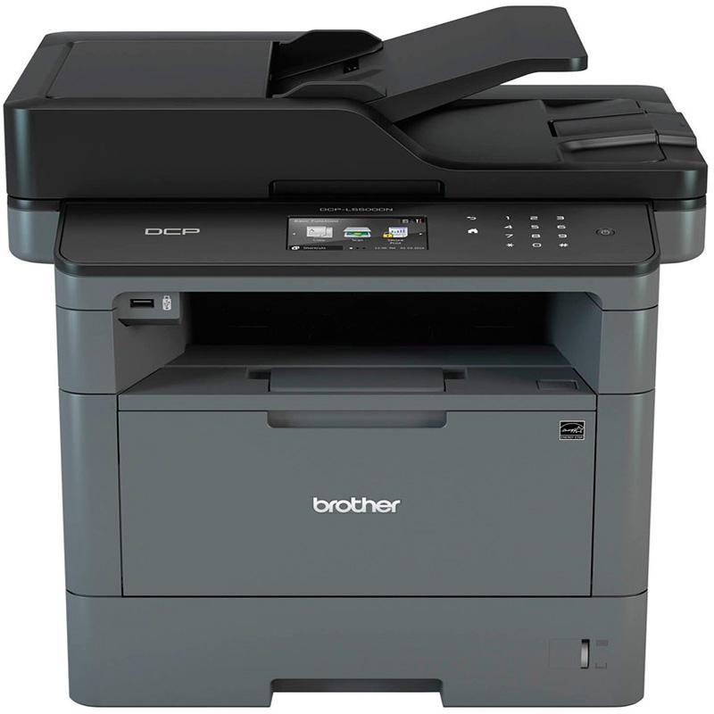 Impressora Multifuncional Laser Brother Mono Dcp-L5502dn- Rede - 40ppm Toner Tn3442 Tn3472 Tn3512