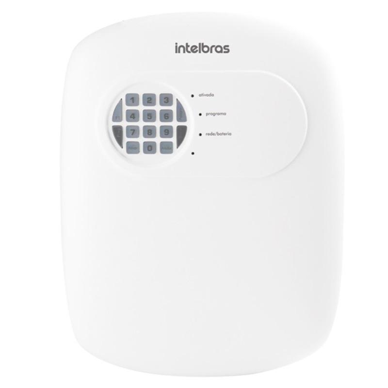 Kit central de alarme intelbras + 04 sensores de presença + 04 sensores p/ portas e jan. + sirene + cont. Remoto + cabos