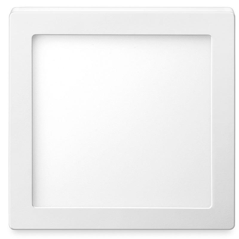Luminária Led De Sobrepor Elgin 24w 6500k Quadrado 48d24wsqb000